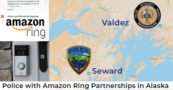 Amazon Partnerships Raise Privacy Concerns in Alaska