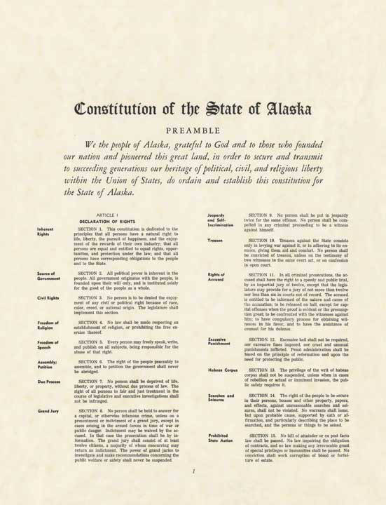 Is It Time for Another Alaskan Constitutional Convention?