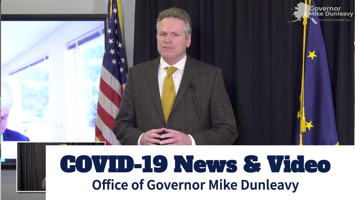 Alaska Governor Michael J. Dunleavy FY 2021 Budget Press Briefing