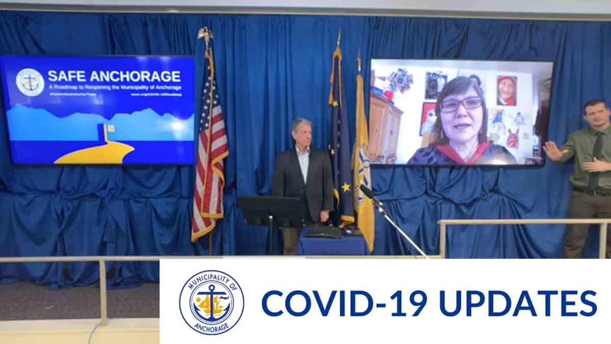 Anchorage Municipality update on the responses to COVID-19