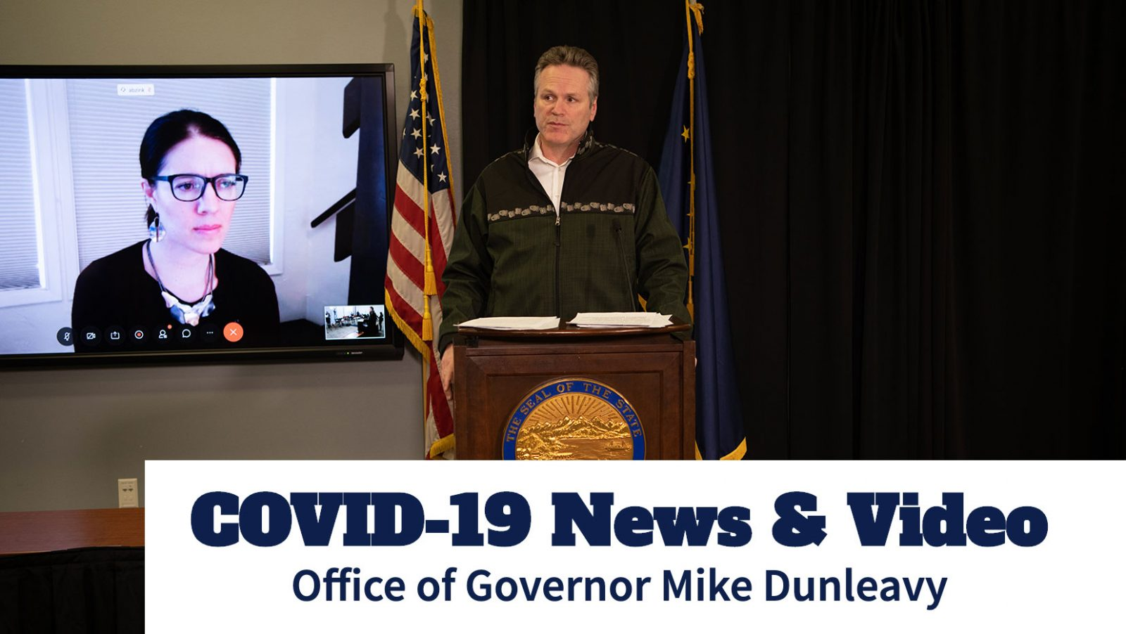 COVID-19 Press Briefing: Governor Mike Dunleavy