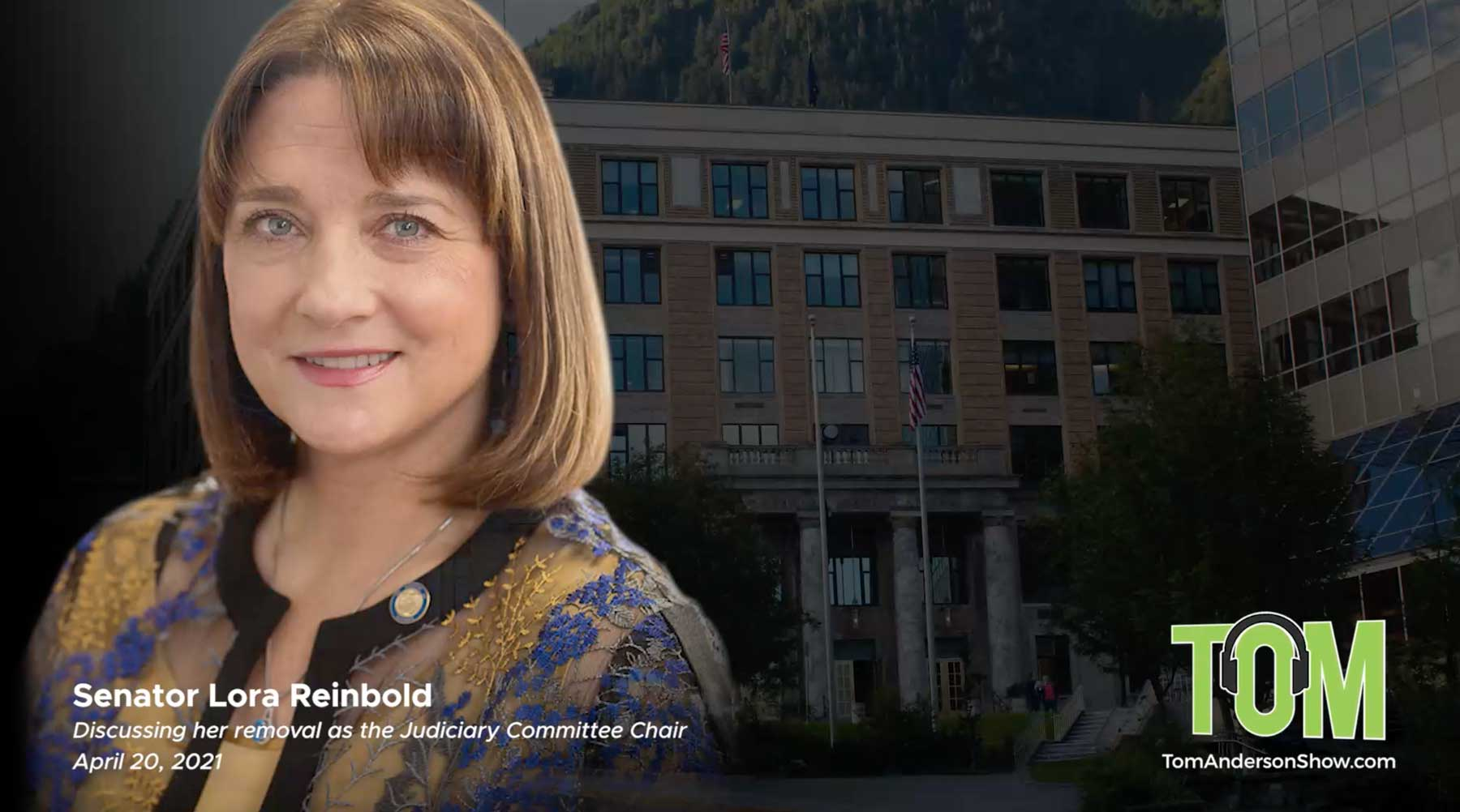 Senator Lora Reinbold responds to the State Senate's removal of her Judiciary Committee Chairmanship